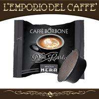 300 Capsule Cialde Caffe Borbone Don Carlo Nero compatibili Lavazza A Modo Mio