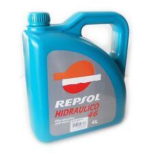 Olio idraulico HIDRAULICO 46 anti usura Repsol 4lt per macchine industriali