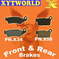 Front Rear Brake Pads Yamaha YZ450 YZ 450 2003-2006