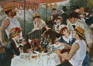 Auguste Renoir - Large A2 size 42x59.4cm Retro Canvas Print Poster Unframed