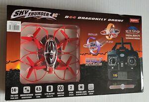 NIB Sky Thunder R/C D44 Dragonfly Drone by Syma
