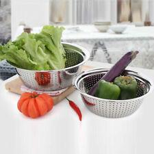 Stainless Steel Colander pasta strainer vegetable Strainer rice strainer  L XL