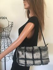 Suzy Smith Bag Faux Fur Designer Fashion Hip Winter Chic Women