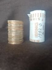 1982 D Kennedy Half - EF-AU - 20 Coin Roll. Hard to find roll!
