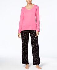 Charter Club Pantalones Impreso Liso Top   Conjunto de Pijamas Grande Nuevo  Sin Etiquetas 330300d92206
