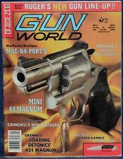 Magazine GUN WORLD May 1987 !COLT Combat Cobra REVOLVER!, *Browning BLR Rifle*