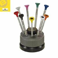 BERGEON 30081-S09 WATCHMAKERS ERGONOMIC 9 PIECE SCREWDRIVER SET - HS30081-S09