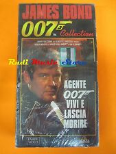 film VHS JAMES BOND 007  VIVI E LASCIA MORIRE  CARTONATA  (F30)  no dvd