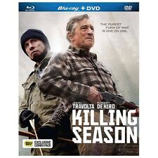 Killing Season (Blu-ray/DVD, 2013, 2-Disc Set) Robert De Niro, John Travolta