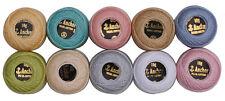 10 Color Pastel Anchor Algodón Para Crochet Bolas