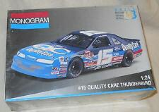1/24 scale: Monogram: #15 Quality Care Thunderbird, kit # 2451, 1994 Made in USA