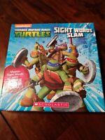 Scholastic Nickelodeon Teenage Mutant Ninja Turtles Sight Words Slam - Education
