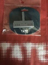 Grey TATE MODERN LONDON ACRYLIC BROOCH BNIP WITH TATE MODERN PAPER BAG