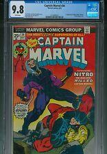 Captain Marvel 34 CGC 9.8 1st Nitro Started Civil War Marvel Comics Movies 2 5