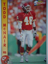 NFL 138 Todd McNair RB Running Back Pacific 1992