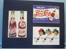Pepsi-Cola Advertisements & Commemorative Collage