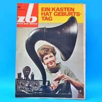 DDR Zeit im Bild ZB NBI 43/1963 Pferde Moritzburg Iran Grünes Gewölbe Dresden