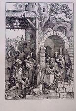Albrecht Durer 13.75x9.75 woodcut the Adoration of the Magi Durer Society