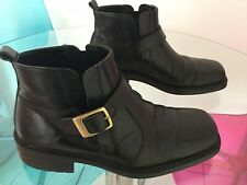 Clarks Mens Leather Ankle Chelsea Boots Size 8
