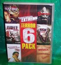 NEW DIMENSION EXTREME TERROR 6 PACK MOVIE DVD BLACK SHEEP ROGUE BROKEN +++