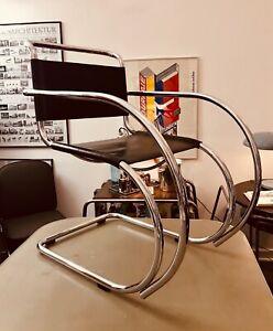 Cantilever chair Mies van der Rohe MR20 1927, FASEM 87 STREAMLINE Freischwinger