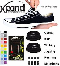 Xpand® No Tie Shoelaces System-Flat Elastic Laces with Adjustable Tension 134cm