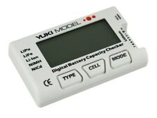Yuki Model Digital Battery Capacity Checker  NiCd  NiMH  LiFE  LiPo #700225