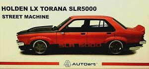 1:18 AUTOart HOLDEN LX TORANA SLR/5000 STREET MACHINE RED CHILLI Brand New FPOST