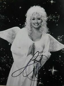 DOLLY PARTON ANGEL COUNTRY SINGER MOVIE STAR SIGNED 8X10 CELEBRITY PHOTO PRINT