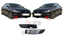 FOR VW PASSAT B6 05-10 NEW FRONT BUMPER LOWER FOGLIGHT COVER BLACK PAIR SET