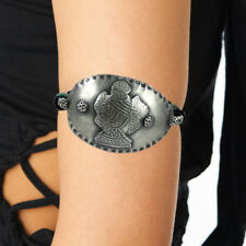 Armlet Turquoise Gemstone Oxidized Sterling Silver Ethnic Jewelry DO54