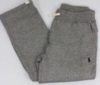 Polo Ralph Lauren Sweat Pants Mens Small Gray Black Pony Cotton