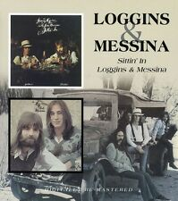 Sittin In/Loggins & Messina - Loggins & Messina (2007, CD NIEUW)2 DISC SET