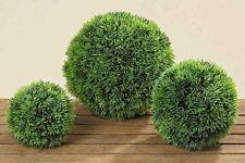 Graskugel Kunststoff grün Durchmesser 18 Cm Dekokugel