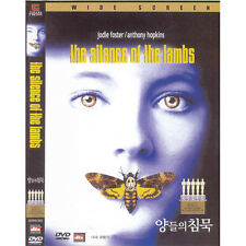 the silence of the lambs,1991 (Dvd,All,New) Jodie Foster, Anthony Hop