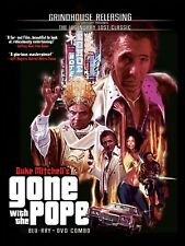 GONE WITH THE POPE , BLU-RAY & DVD , GRINDHOUSE RELEASING , OOP , REGION A,B,C