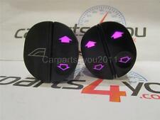 FORD FIESTA / PUMA / KA / TRANSIT PINK LED WINDOW SWITCH SET + FREE UK POST