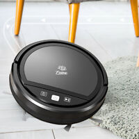 Auto Rechargeable Smart Robot Vacuum Cordless 1600Pa Dry/Wet Floor Mop Cleaner