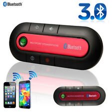 Kfz Red Wireless Bluetooth Hands Free Car Kit Speakerphone Speaker Phone Visor