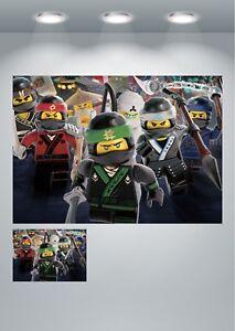 Lego Ninjago Large Poster Art Print