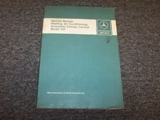 mercedes for 450sl other manuals literature for sale ebay rh ebay com 1974 450SL Fuel Pump 1970 450SL