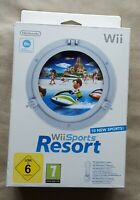 Nintendo Wii game - Wii Sports Resort with Official Motionplus Adapter