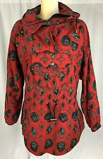 Nils Womens Winter Coat Insulated Parka 8 Jacket Snowboarding Ski Red Vintage