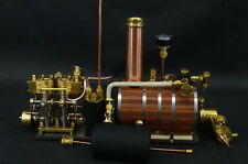 Two-cylinder steam engine Live Steam with Boiler Live Steam With P5