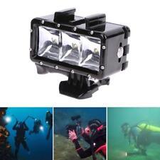 Underwater Light Waterproof Diving 3 LED Lamp Fill Light For GoPro Hero SJCAM