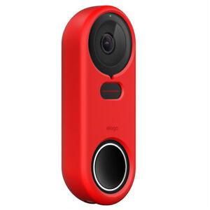 Google Nest Hello Doorbell Cover - elago®  Silicone Case [RED]