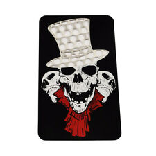 Top Hat Skull Card Herb Grinder Shredder Wallet Pocket Slim Smoke Cutter