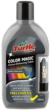 Turtle Wax Color Magic Colour Enhancing Polish 500ml & Chip stick Dark Grey