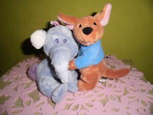 Elefant & Känguru     Disney    Winnnie Puuh  Kuscheltier