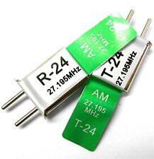 RC R/c Remote Control 27 MHz 27.195 Am Crystal TX & RX